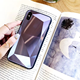 2019 New Arrival Golden SKY For IphoneX Glass Shell 8plus Laser Mobile Phone Shell 3D diamond Protective Glass Phone Case