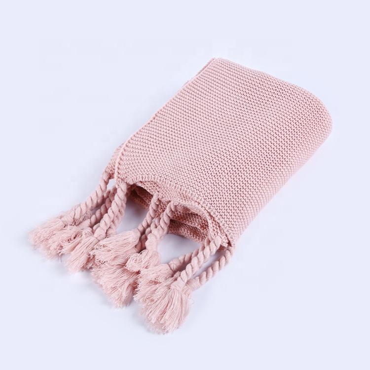 Acrílico hilo grueso giro grueso trenza manta suéter