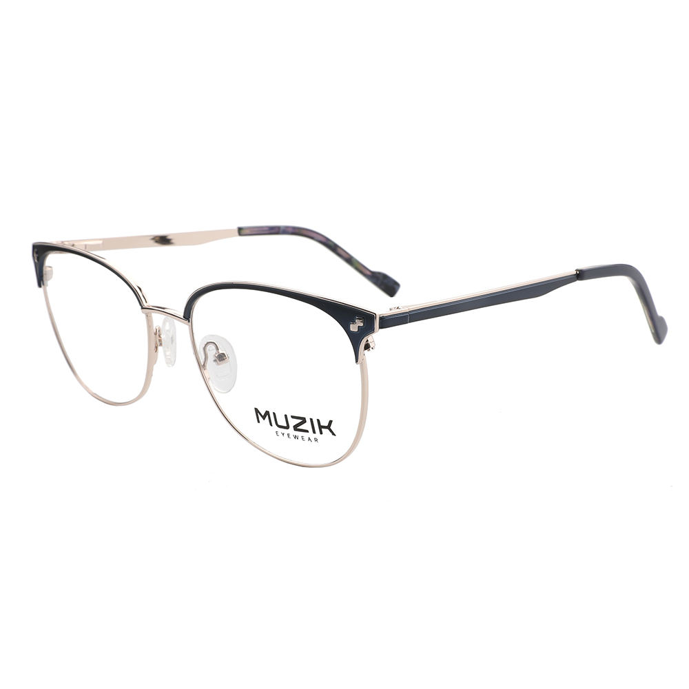 Metal Stock Optical Frame ML0270 Latest Design Double Bridge Optical Frames