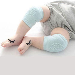 Wholesale Pure Cotton Knitted Elastic Baby Knee Protect Sleeve Pad for Kids