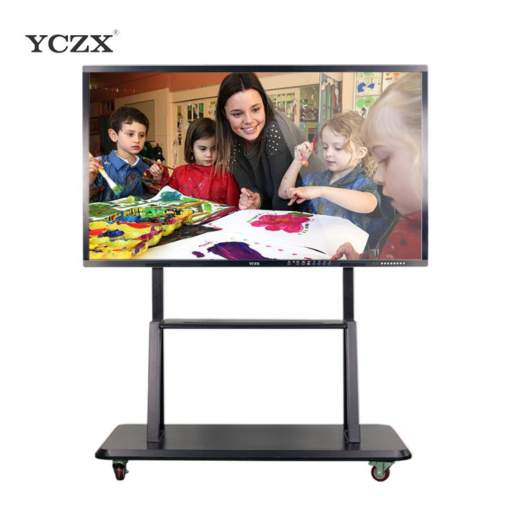 YCZX Led smart board touchscreen-monitor interactive flat panel display android 5.0 OS verwurzelt version