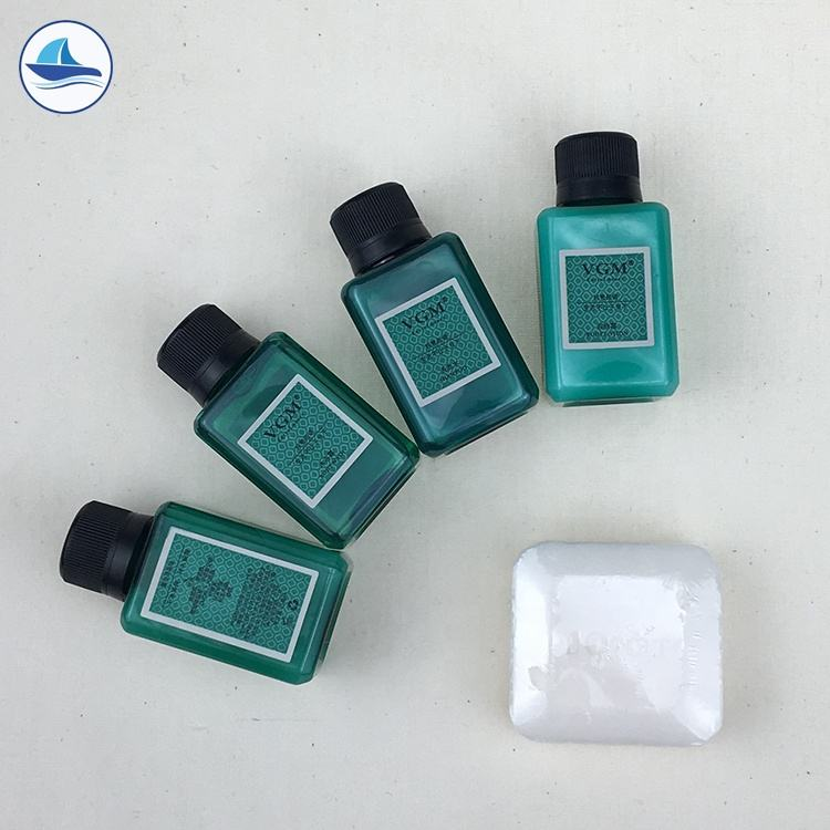 Square Bottle Cheap Disposable 25ml Hotel Shampoo And Conditioner