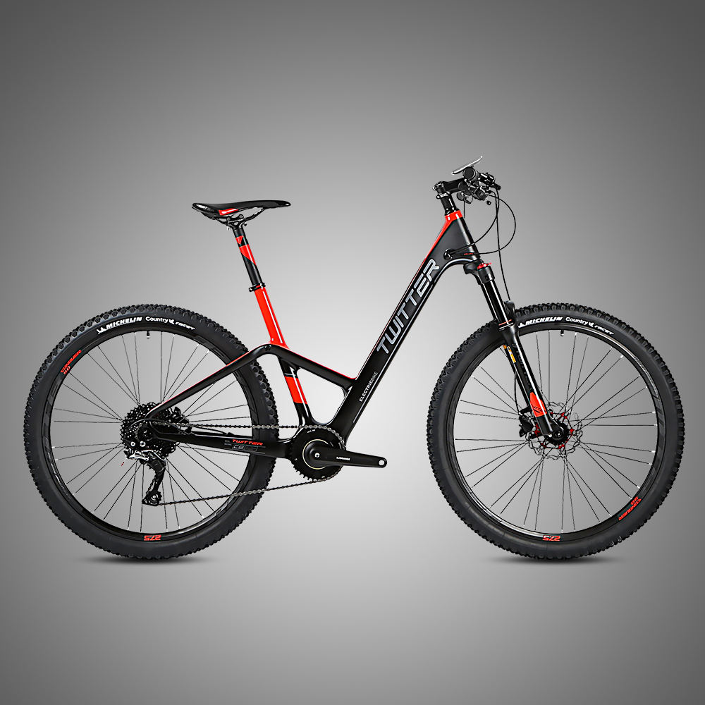 Mid drive brushless motor carbon bike bicicleta electric bicycle