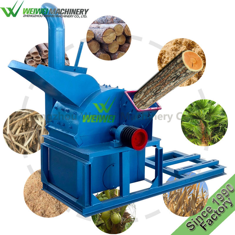 Weiwei garden fertilizer sawdust block press machine