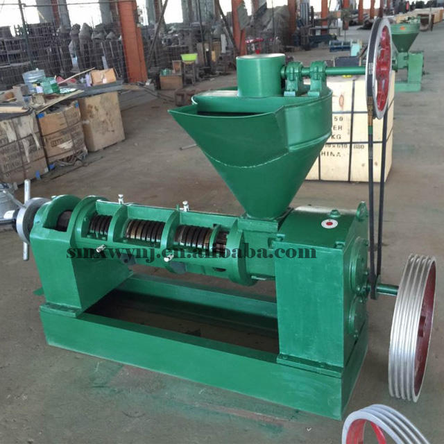 Commercial oil press machine palm oil press seed oil pressing machine 6YL-80