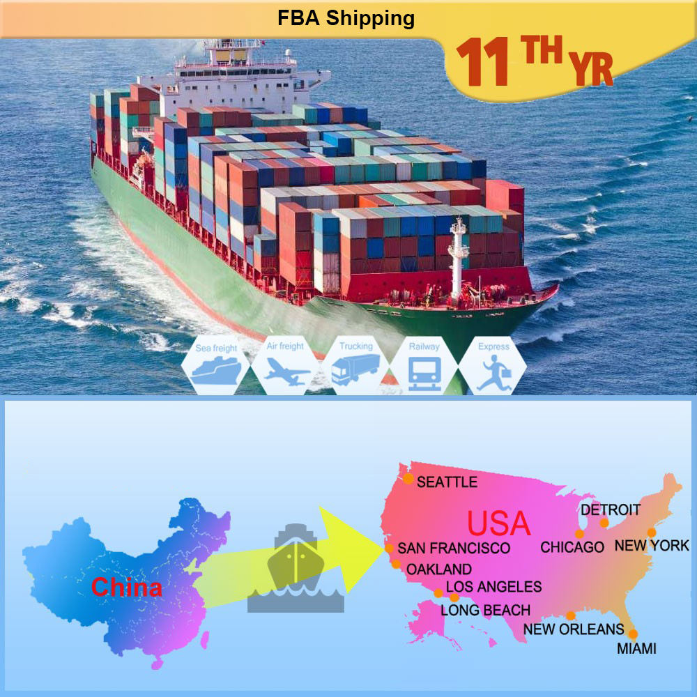 China top broker freight forwarder international goods export import shipping agent HQ in Shenzhen to USA/Canada/AU/UK