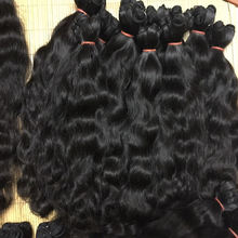 Raw Vietnamese Burmese Hair Unprocessed Virgin Natural Straight & Wavy Hair Vendors, Vietnamese Cuticle Aligned Raw  Human Hair