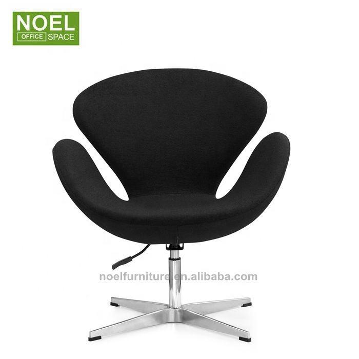 Sillas de salón negro barato sillas de salón en 360 grados de ocio Silla de salón para oficina habitación