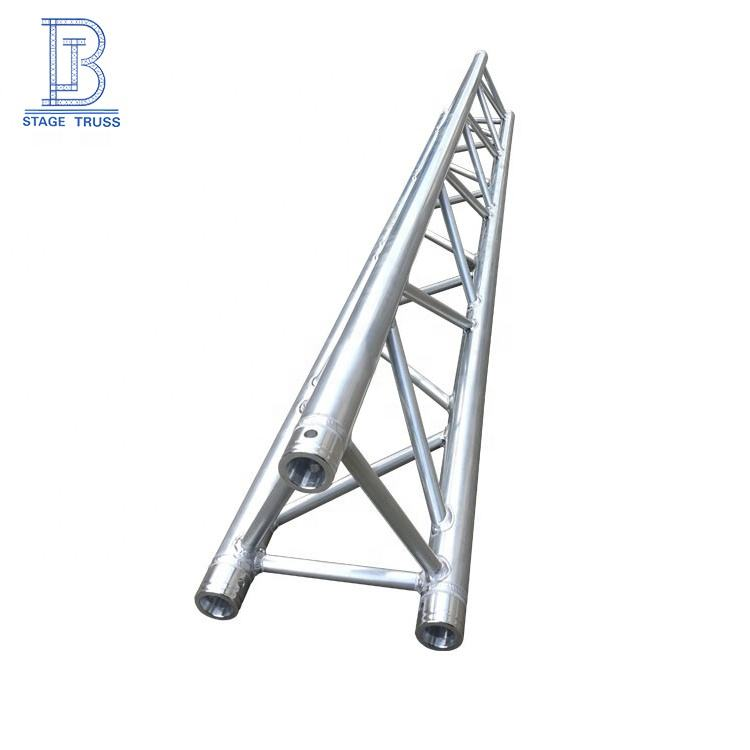 Hot sale customized 350*350 mm Aluminum Alloy Triangular Fixed Truss Stage Lighting Equipment Hanging Truss Frame