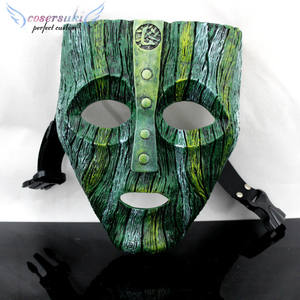 Halloween Horror Mask Disguise Geek Loki Mask Dance Film Cos Anime Party Mask