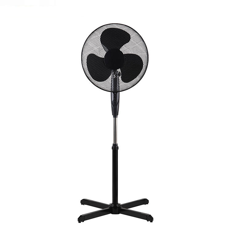 Hot selling home use large quiet floor standing light fan for office