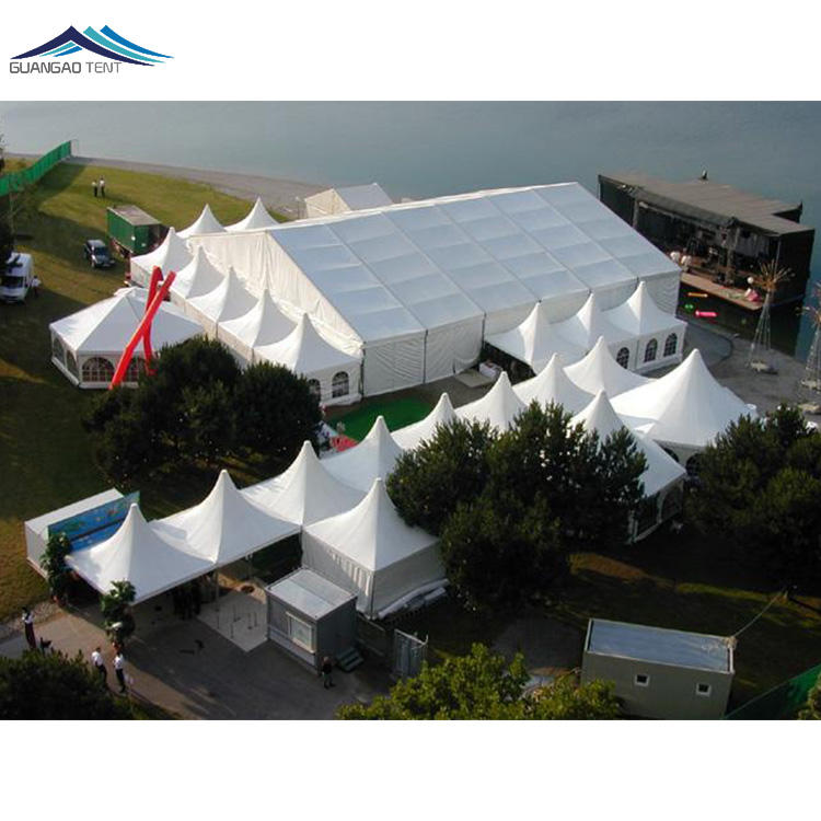 Aluminum [ Party Tent ] Tent For Party Guangzhou Manufactory Good Quality 1500 Person Party Tent