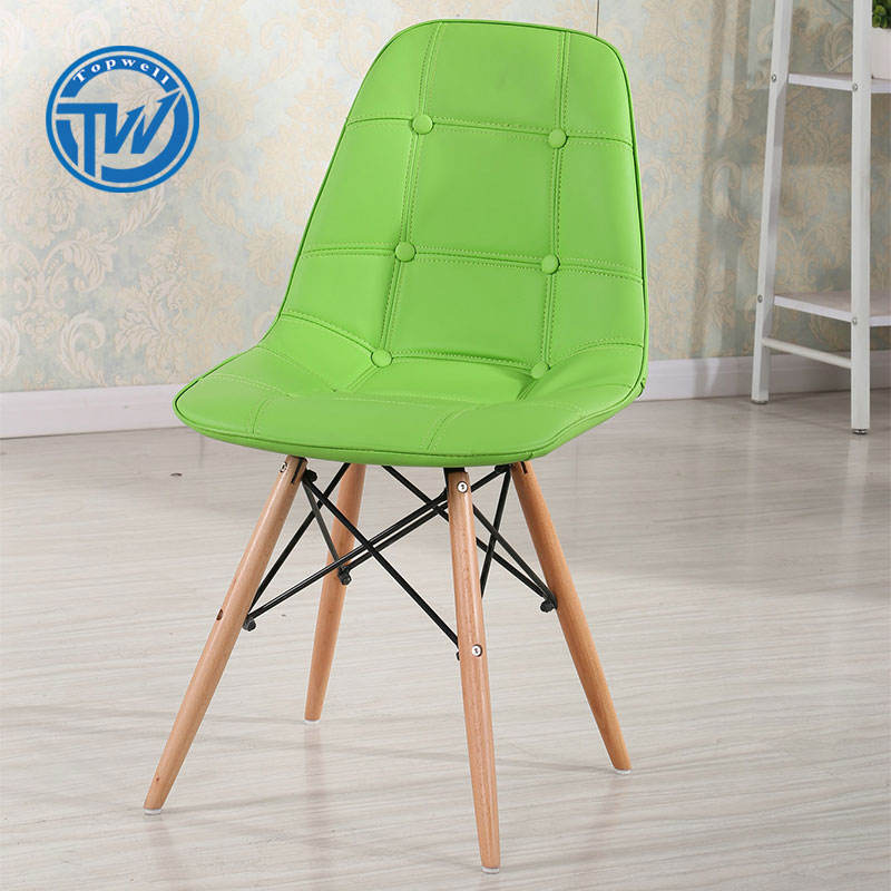DC-6K01 TOPWELL Comfortable PVC Leather Chair For Living Room Chair
