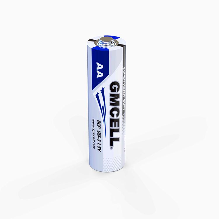 1.5 v di Alta Qualità Eccellente R6P AA UM-3 Zinco Carbone Batteria AA