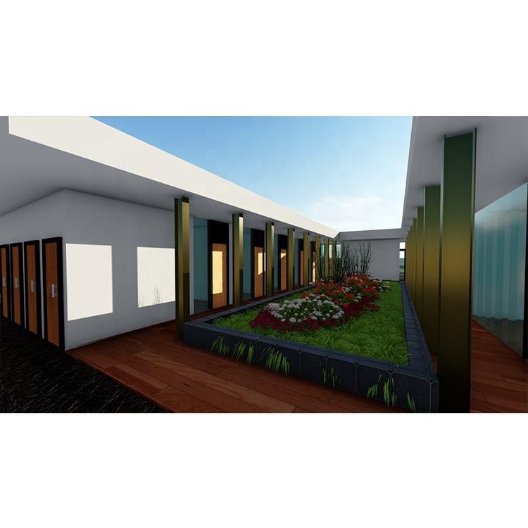 조립식 강 Structure Single-층짜리 Luxury Building Office 대 한 \ % Sale