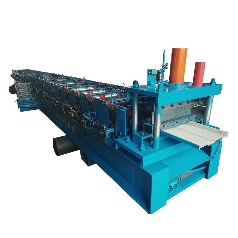 Horizontal hydraulic arc bed roll forming machine with high effective and low cost