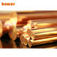 99.9% copper rod/copper bar/brass rod factory price ( brass (c3604bd) )