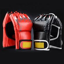 Martial arts fighting gear equipment PU MMA gloves for sale