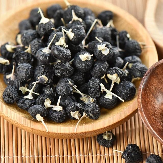 Chinese edible dried fruit black goji berry wolfberry for wholesale