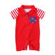 USA Hot Design Children Patriotic Day Clothes Baby 4th of July Romper