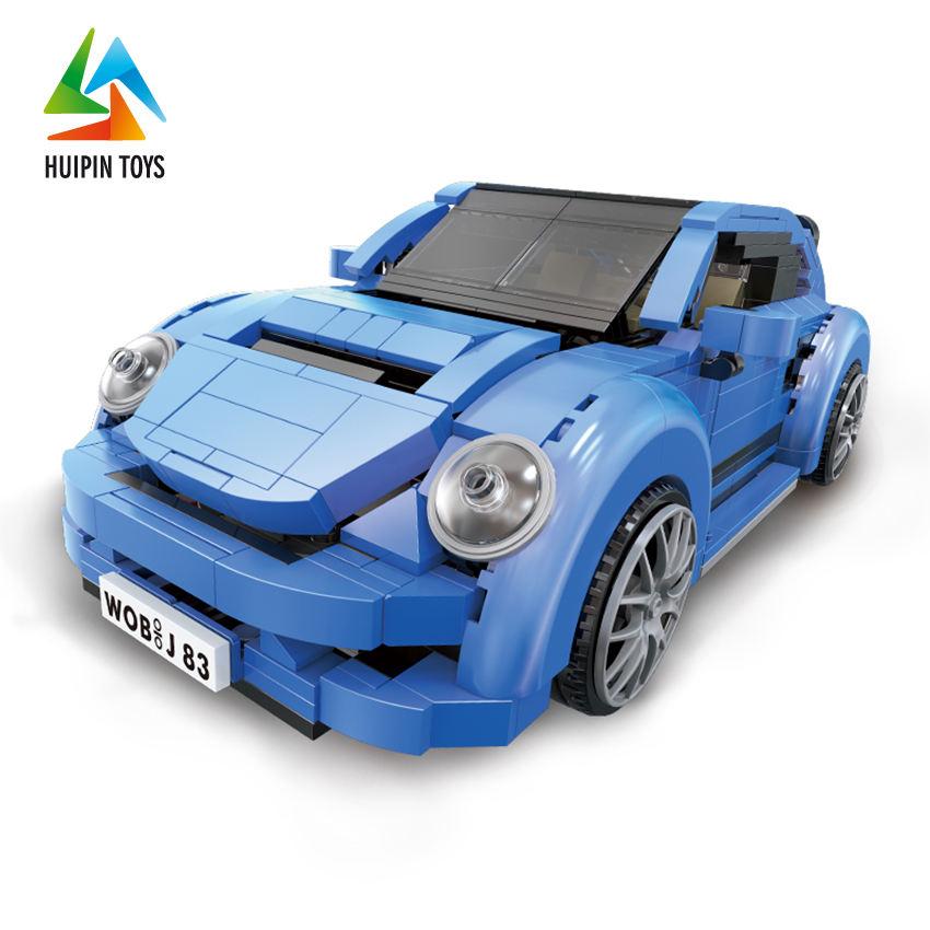 L'assemblée <span class=keywords><strong>beetle</strong></span> blocs 03015 de construction en plastique modèle jouet diy bâtiment voiture pour jouer