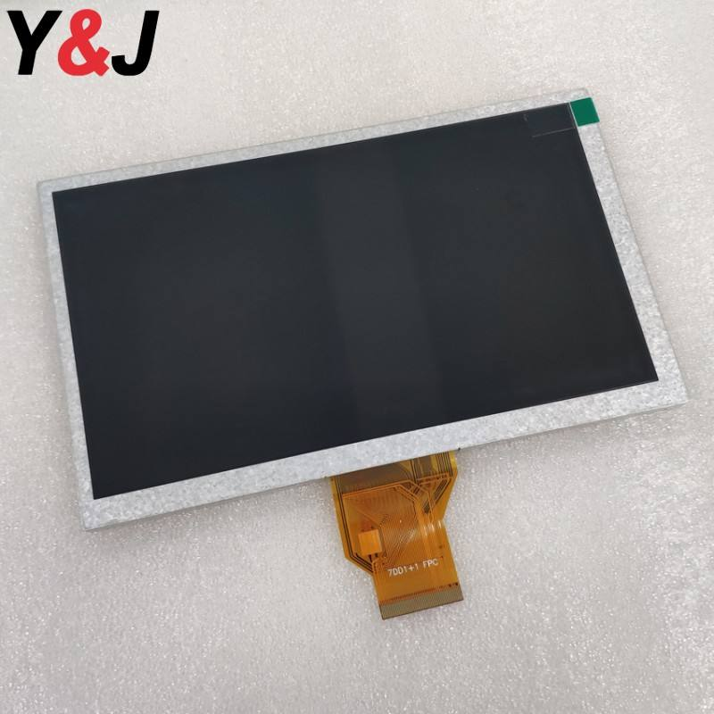AT080TN64 8 polegadas tft lcd 800x480 50 pinos RGB interface de exibição