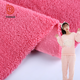 stock fabric china supplier plain polyester sherpa fabric fleece shu velveteen fabric