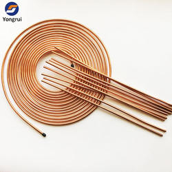 Hot Selling Auto Brake System Copper Coated Steel Bundy Tube