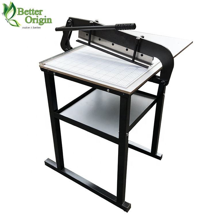 Good quality curtain fabric sample cutting machine with zigzag blade