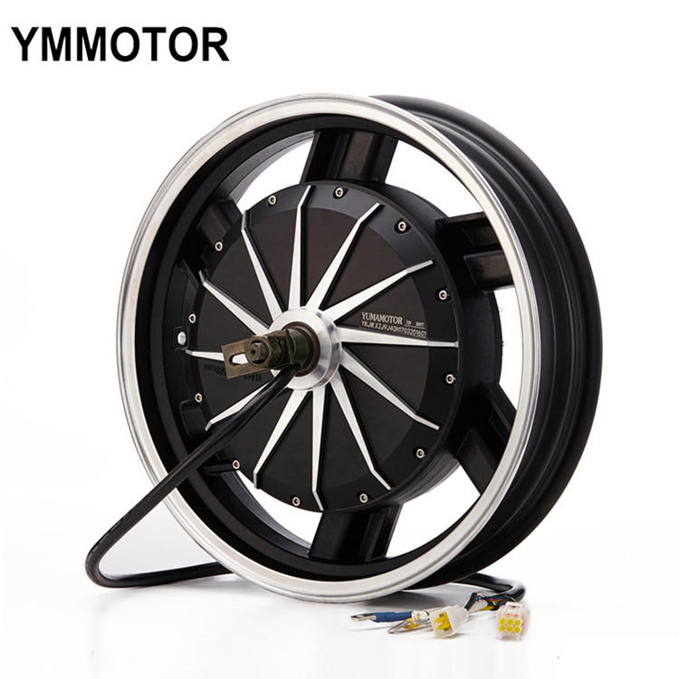 17 Inch BLDC Electric Motorcycle 8000w Hub Motor