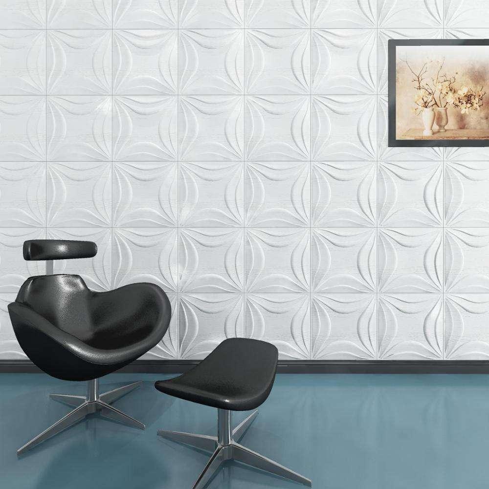 Moderno, a prueba de humedad 3d paneles de pared decorativos y azulejos para la decoración de la casa