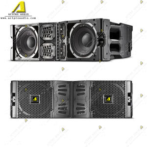 VTX V20 three way double 10 inch line array passive speaker active loudspeaker compact professional line array system