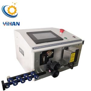 Automatic wire bending stripping and cutting machine suits for 0.2 to 16mm BV hard wire