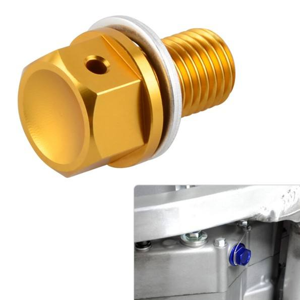 Stainless Steel Oil Drain Plug with NEODYMIUM Magnet M14 x 1.5 MM