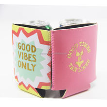 Customized Top Quality Free Stock Sample Neoprene 12 oz Can Cooler Insulated Stubby Beer Drink Bottle Holder