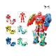 5 in 1 Combination Transformation Toys Deformation Robot toys for children