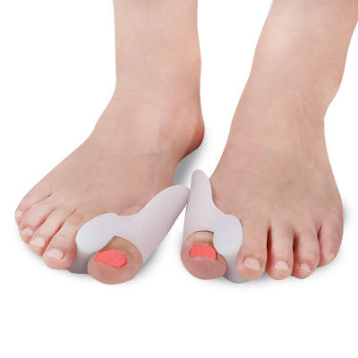China wholesale foot overlapping toes curing silicone toe stretcher separator