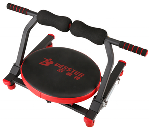 Sit Up Bench Mini 6 rotativo Multi Funcional-Pack Máquina AB equipamentos de Fitness Máquina
