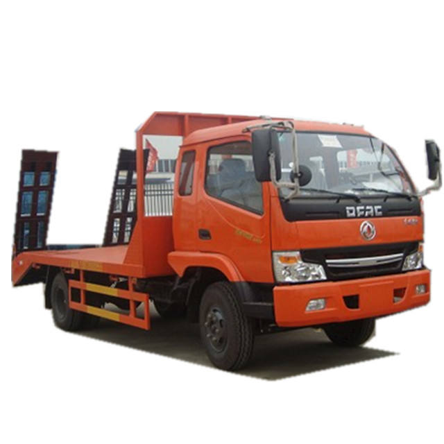 Dongfeng Flat Bed Gooseneck Trailer With Low Price