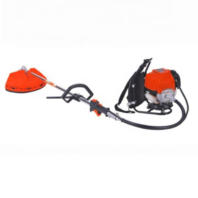4 stoke backpack gaoline brush cutter or 38cc grass cutter or backpack 4 sroke grass trimmer
