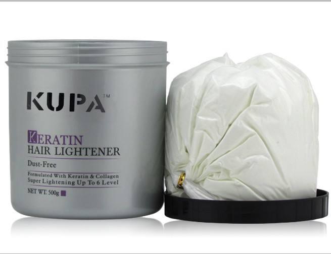 Libre de polvo del pelo aligerar 500g alta elevación 5-7 niveles polvo blanqueador