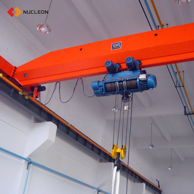 LDA Type 2 3 5 10 Ton Electric Hoist Single Girder Overhead Crane Price