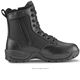 HBP02 Tac Force Men's 8 inches Black Waterproof Military Tactical Boot with Zipper