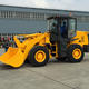 Updated W136 1.8M3 bucket capacity ZL50 3 ton front loader