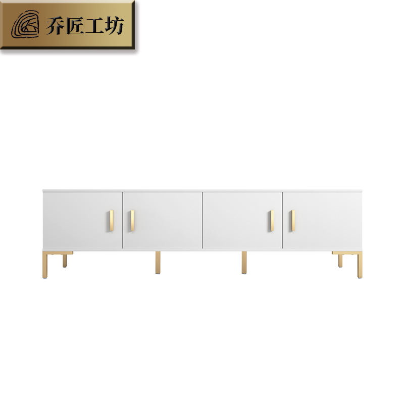 New Home living room furniture modern design TV cabinet TV stand with metal legs
