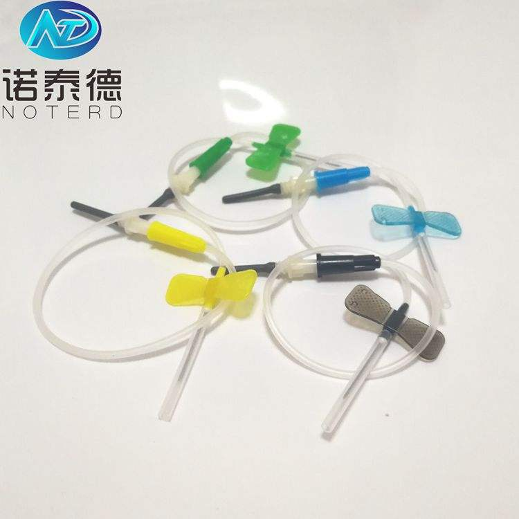 20g 21g 22g 23g types of disposable butterfly blood collection injection needle