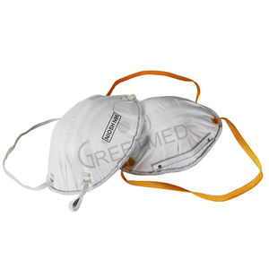Custom medical ear loop disposable washable niosh dust pm2.5 n95 face mask