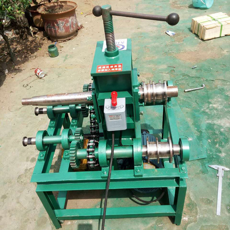 Wholesale turbine gearbox small type bending wall thickness 3mm pipe rolling machine