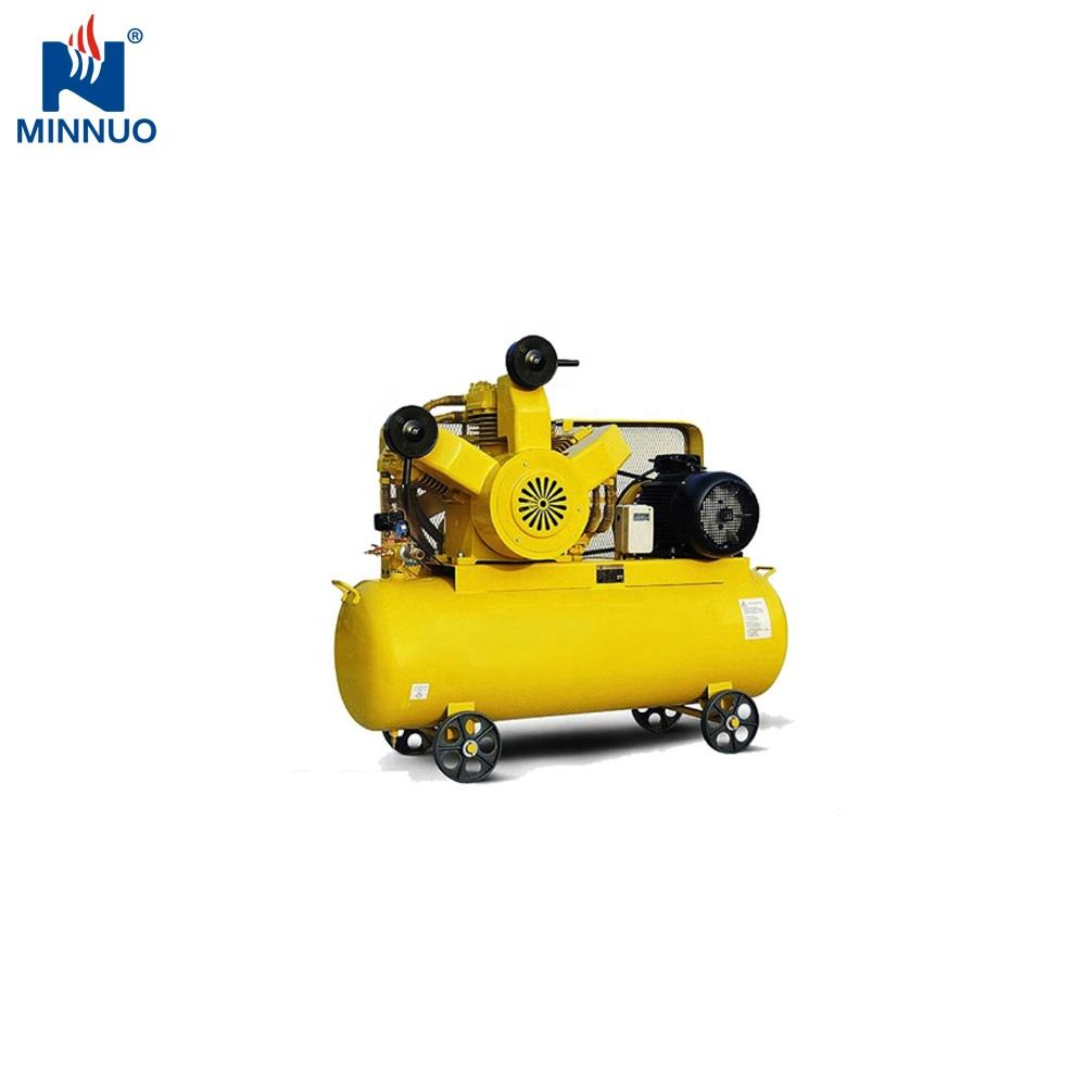 Factory 400L min belt driven piston air compressor pump 5.5HP