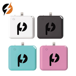 2019 new arrivals plastic shell free samples one time power banks OEM